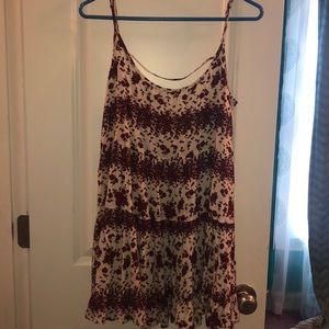 Brandy Melville Rose Patterned Dress